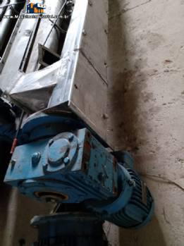Rosca transportadora inox 3,20 m