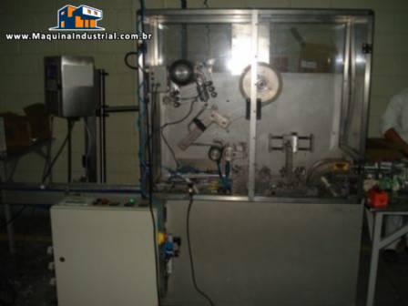 Máquina Celofanadeira Rotativa Intermitente