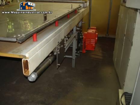 Túnel resfriamento marca Sollich