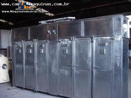 Estufa industrial para secagem inox