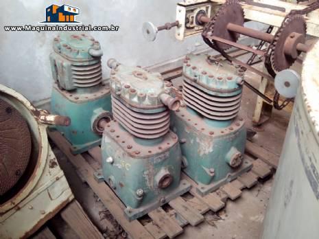 3 Compressores Bloco Vll