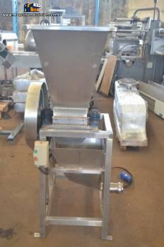 Triturador para retalhos de doces 40 kg hora
