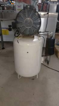 Vaso de pressão com compressor