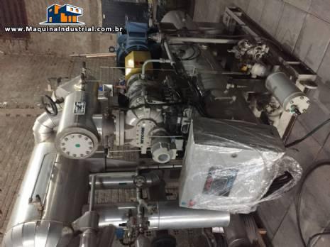 Chiller compressor parafuso Mycon